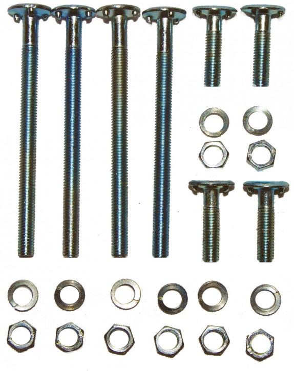 Schrauben für Rollschuhmontage   M5