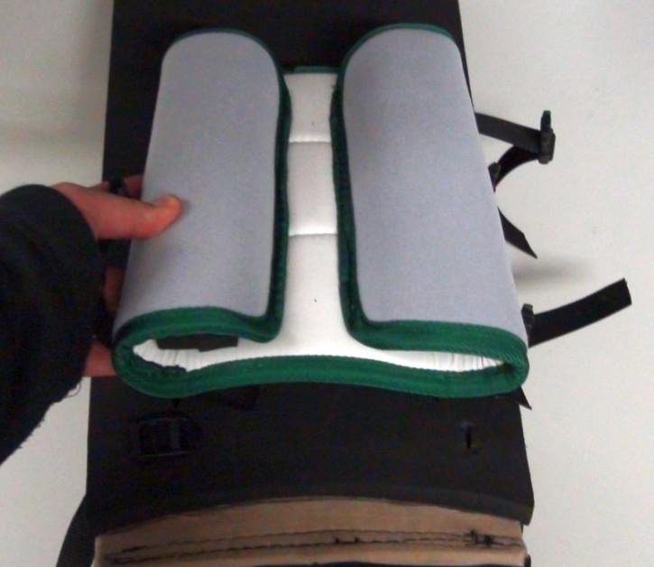 Torwart-Beinschoner-Stabilisatoren Skater  XL