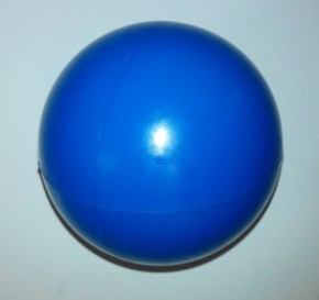 Rollhockey-Ball TVD   Blau