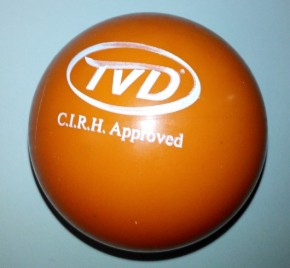 Rollhockey-Ball TVD  Orange